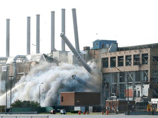 Implosion of Kodak Building 53 on Saturday.