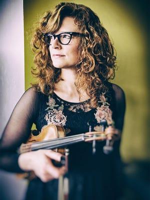 Fiddler Becky Buller will be performing throughout the Wickenburg Bluegrass Festival.