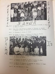 Ivory Williams in his senior yearbook from 1967 at Northern High School can be seen in the National Honor Society, as well as the Prima Is, a group that was formed after the walkout of 1966.