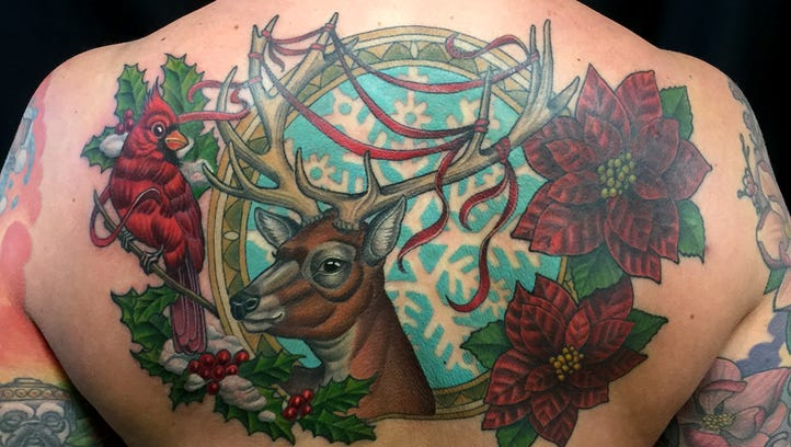 Like other art, tattoo work takes training and practice
