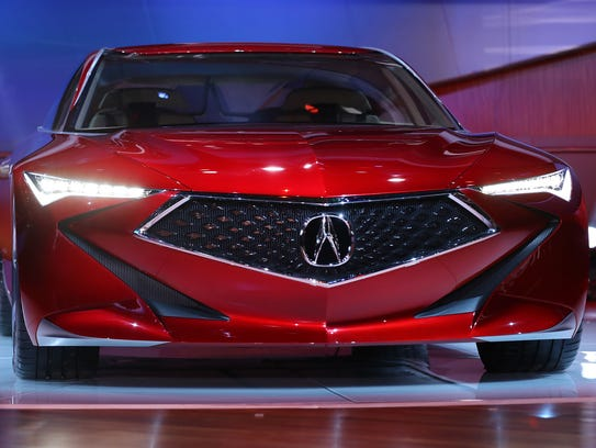 Acura reveals its Precision concept luxury sedan during