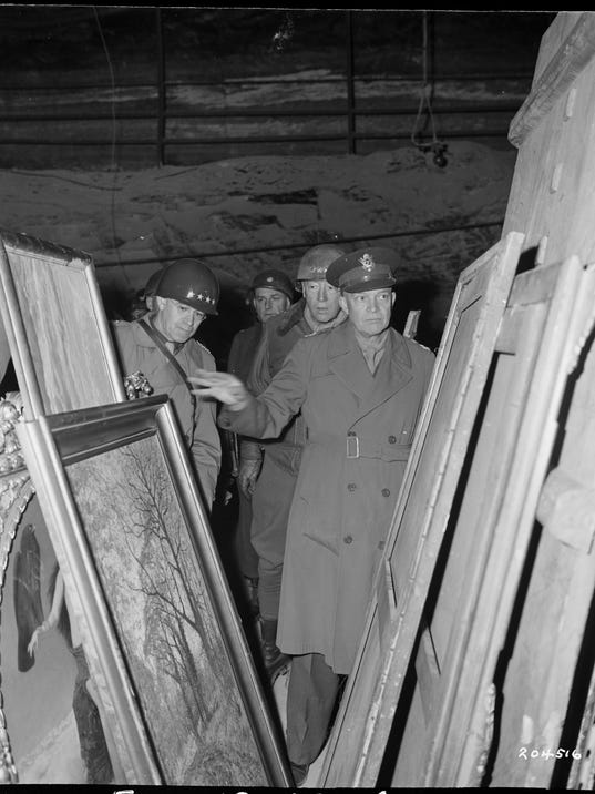 Nazi looted art