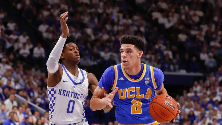 No. 9 UCLA goes on the road to  hand No. 1 Kentucky its first loss