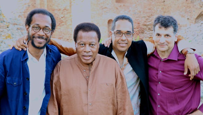 The Wayne Shorter Quartet will perform with Herbie Hancock on April 23 as part of the Wayne Shorter Weekend at NJPAC in Newark.