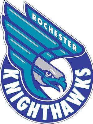 Rochester Knighthawks new logo