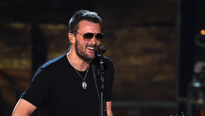 Eric Church will help kick off the CMA Awards on Nov. 4.