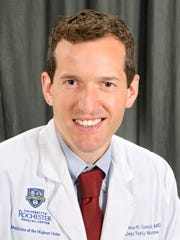Thomas M. Campbell, M.D., a board-certified family physician who practices at Canalside Family Medicine in Greece