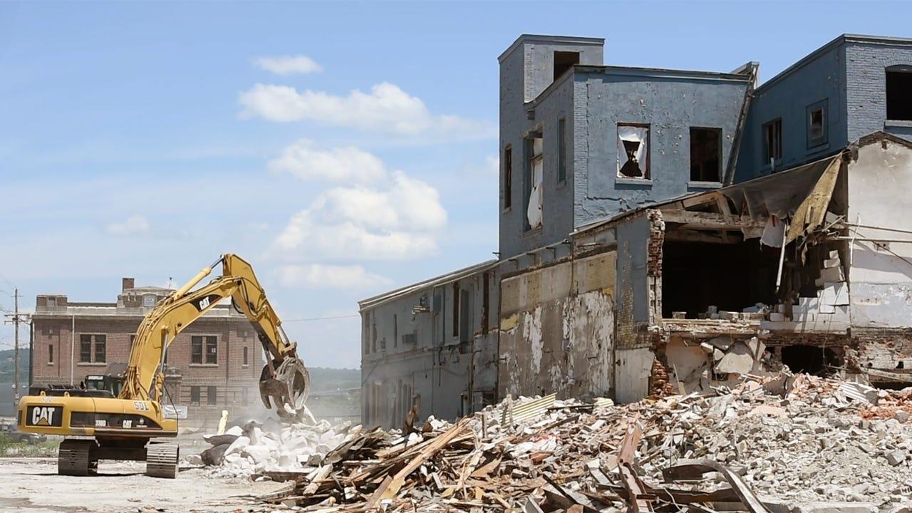 Demolition begins at Pensupreme site in York