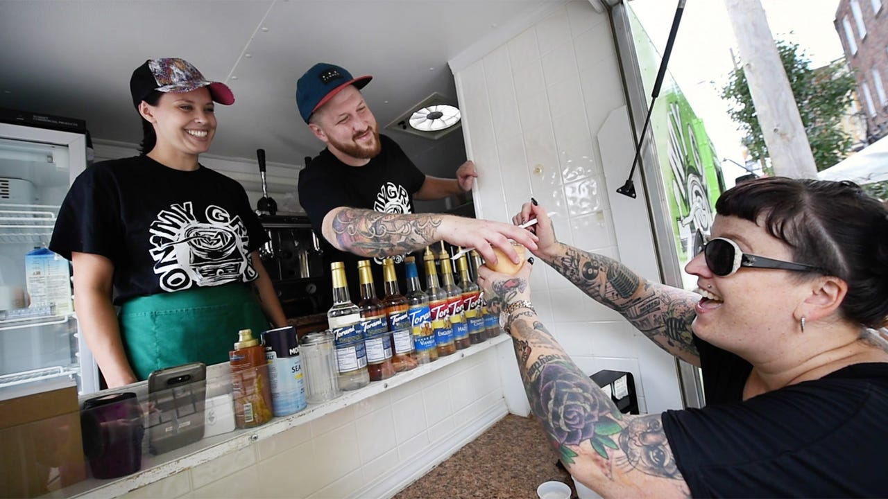 Coffee truck owner fights opioid addiction