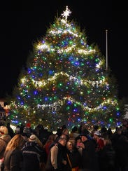 this file photo shows rehoboth beachs annual christmas tree lighting in 2014 - Christmas Tree Lighting