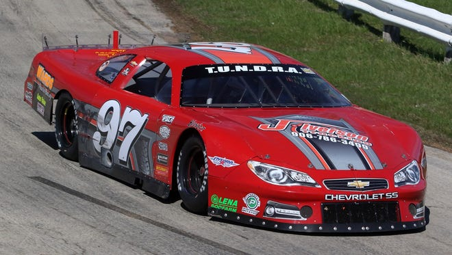 Robby Iverson of Escanaba, Mich., is looking to become Norway Speedway's first third-generation champion in the track's late model division.