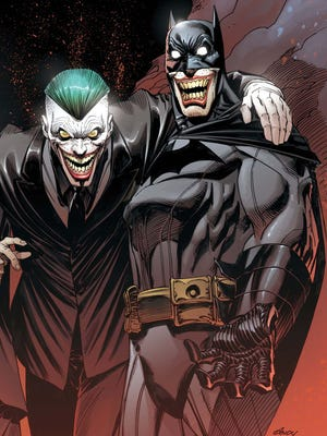 The Joker and the Dark Knight square off in a final showdown in 'Batman' No. 40.