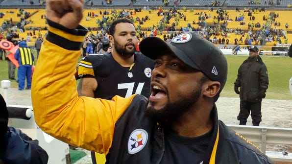 Pittsburgh Steelers head coach Mike Tomlin has a 103-57