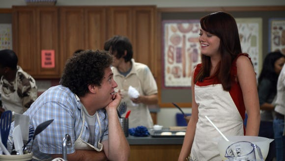 Emma Stone also starred in 'Superbad' as Jules.