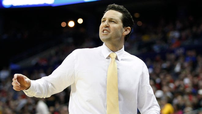 Valparaiso coach Bryce Drew and his squad will have their NCAA tournament fate decided by the selection committee.