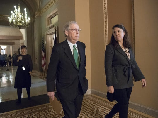 Mitch McConnell,Laura Dove