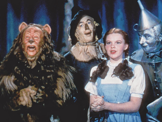 "The original cast of ""The Wizard of Oz""."