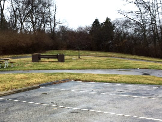 This corner of the property where the Colerain Township Senior Center is located is the proposed site of a new Veterans Memorial.