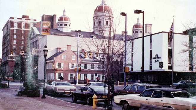 Charles V. Goodwin of Windsor submitted several photos of York's downtown area through the years, including this one.