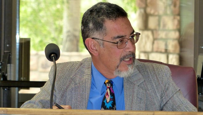 Ruidoso Village Councilor Rifle Salas said his main immediate objective is to secure the Fort Stanton water line.