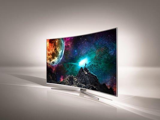 Samsung JS950 Curved TV - a