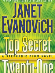 """The cover for """"Top Secret Twenty-One"""" by Janet Evanovich. The 23rd installment in the best-selling series comes out in November."""