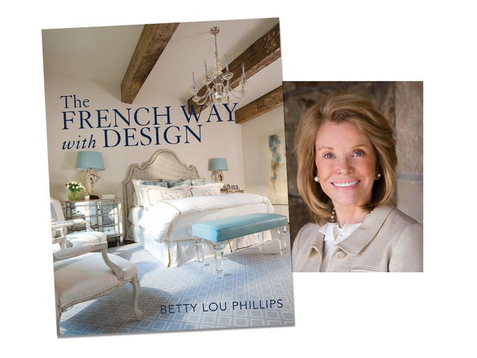Interior designer Betty Lou Phillips, the author of