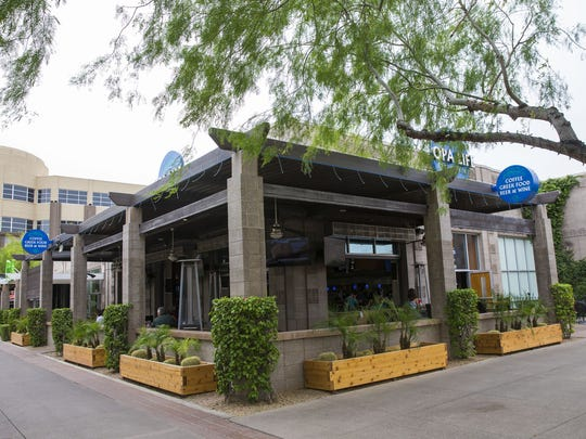 Exterior of Opa Greek Life restaurant at Westgate in