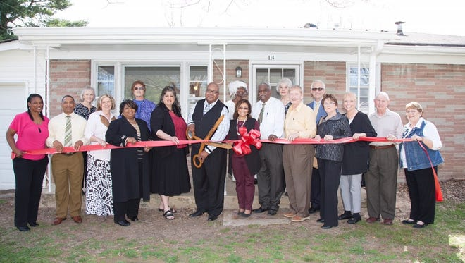 Good Neighbor Mission celebrated the opening of its new Portland shelter for local families facing or fighting homelessness.