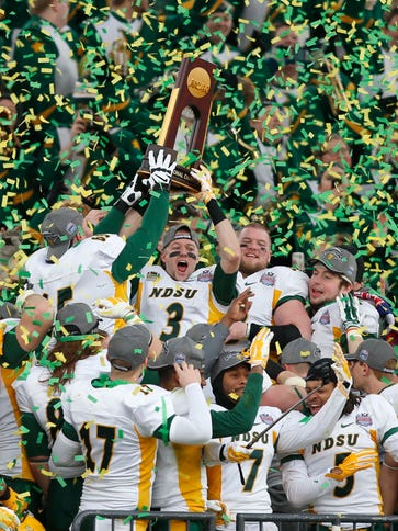 FCS Power North Dakota State Bison winning the national