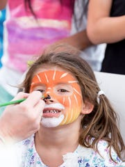 Abrakadoodle will be leading the face painting.  (Photo