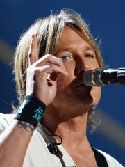 Keith Urban plays July 29 at the Lake Tahoe Outdoor