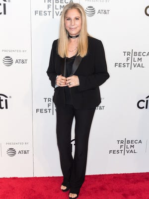 Barbra Streisand attends an event at the Tribeca Film Festival in April.