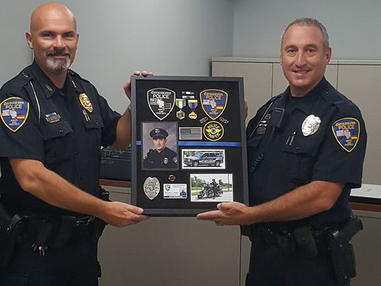 Germantown crime prevention DARE officer retires after 21 years