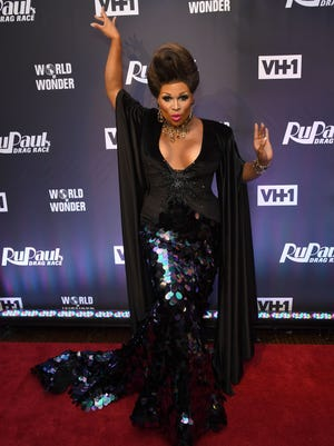 """Peppermint attends the finale party for """"RuPaul's Drag Race"""" on June 23, 2017 in New York."""