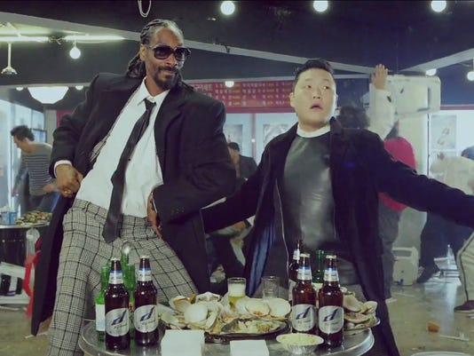 Snoop Dogg and Psy