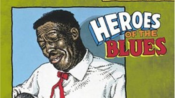 "From ""Heroes of the Blues"" by R. Crumb"