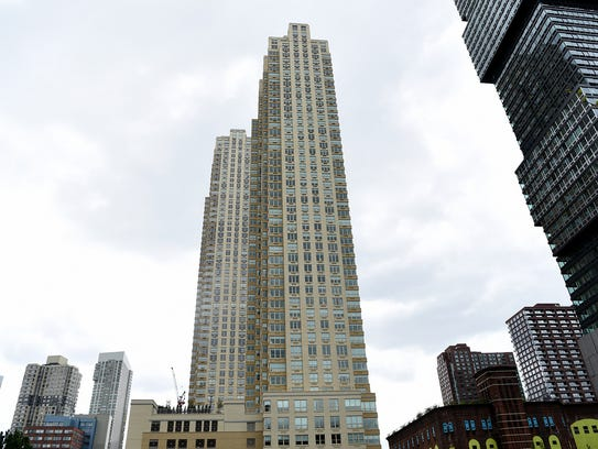 The Trump Bay Street project, a 53-story luxury apartment
