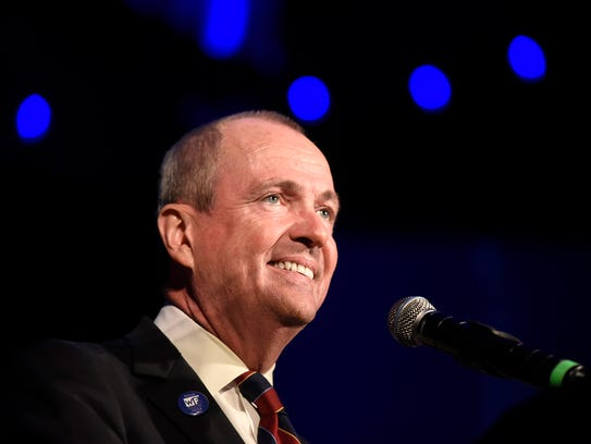Drawing on his own fortune, Phil Murphy fended off five Democratic opponents to secure the party's nomination for governor, then cruised to a 14-point victory over Republican Lt. Gov. Kim Guadagno.