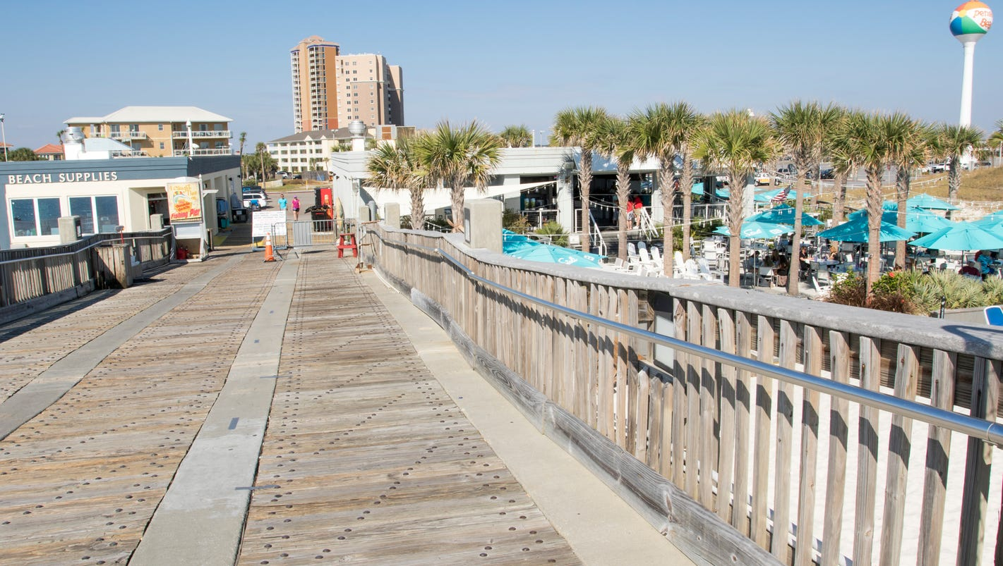 Pensacola beach fishing pier cost family passes expected for Pensacola beach fishing pier