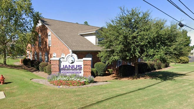 The JANUS Research Group main office in Evans at 600 Ponder Place oversees a multi-state operation of employees developing specialized software for the U.S. military.
