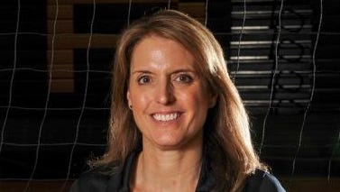Phoenix Mountain Pointe volleyball coach Karen Gray is the Arizona Sports Awards, presented by Arby's Big Schools Girls Volleyball Coach of the Year.