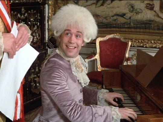 "Tom Hulce starred as Wolfgang Amadeus Mozart in the movie ""Amadeus,"" which won the Oscar for best picture in 1985."