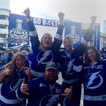 These are the fans the Lightning need to beat the Blackhawks.