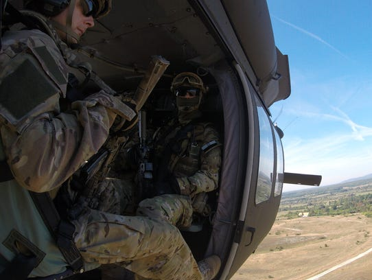 The 3-501st recently participated in the joint exercise