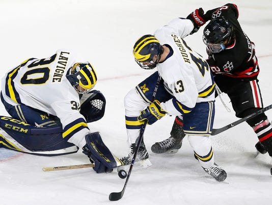Michigan hockey, Quinn Hughes, Hayden Lavigne