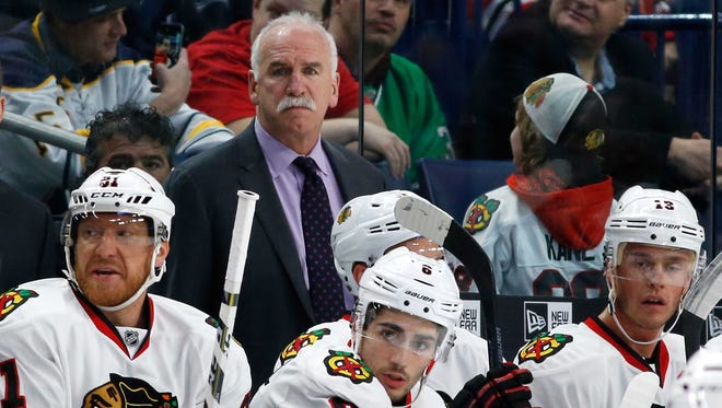 Chicago Blackhawks head coach Joel Quenneville will keep his job, but the security of others might not be so firm.