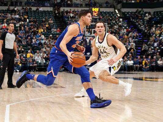 NBA: New York Knicks at Indiana Pacers