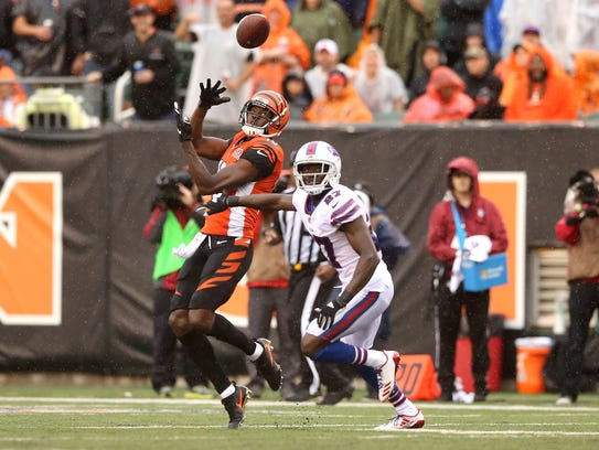 A.J. Green makes one of the Bengals' eight deep ball
