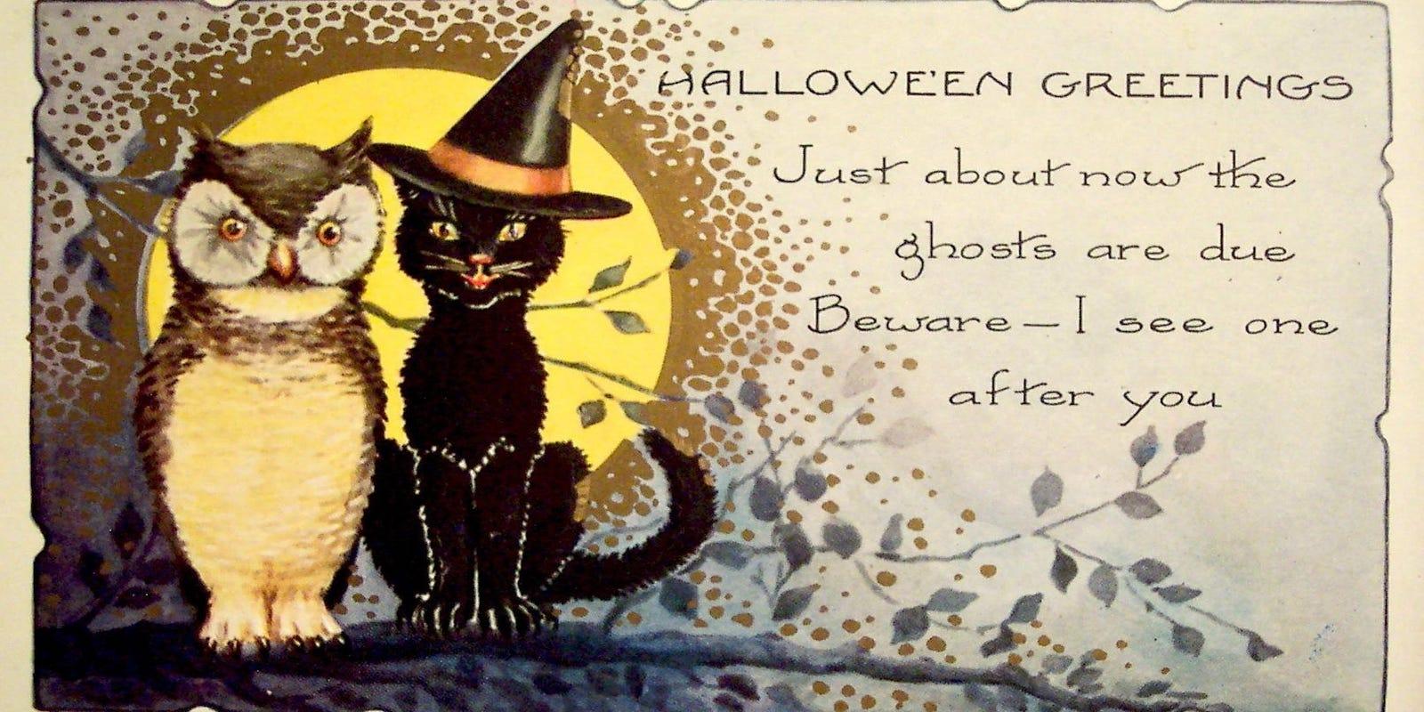 Открытка на хэллоуин на английском языке, шка картинки